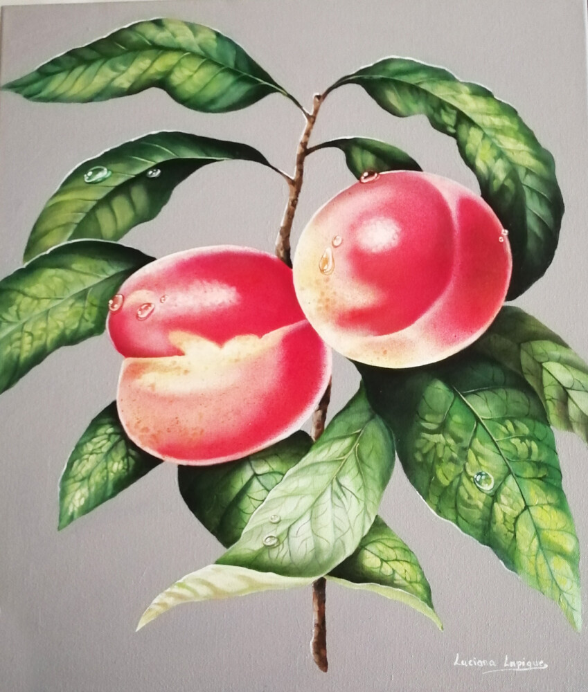 peaches-painting