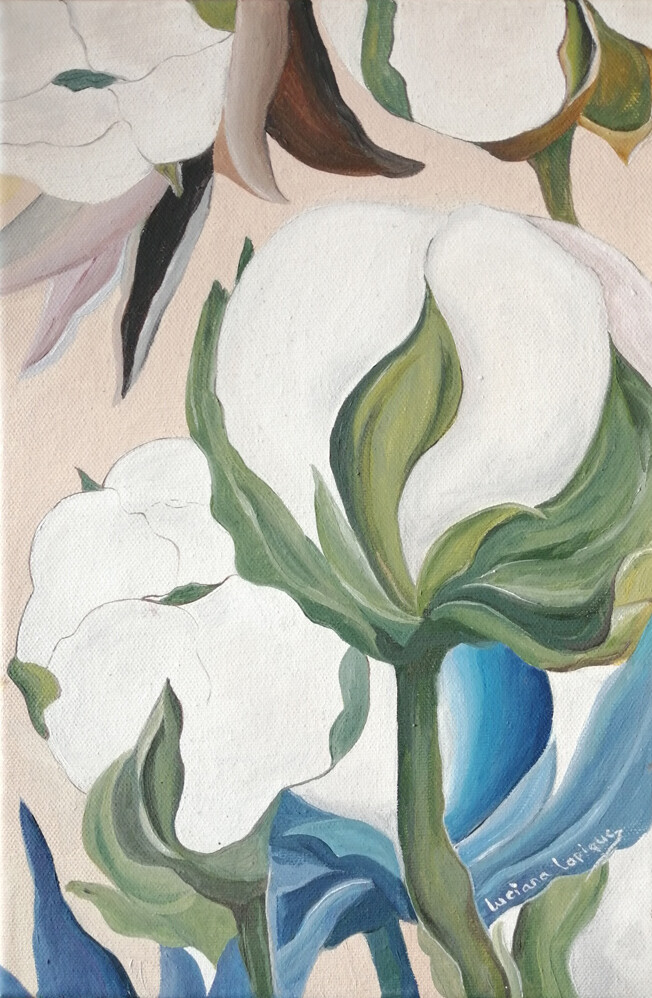 cotton-flowers-painting