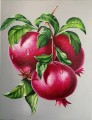 pomegranate-painting